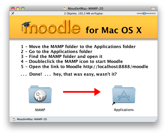 Complete Install Packages for Mac OS X - MoodleDocs