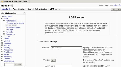 LDAP authentication - MoodleDocs
