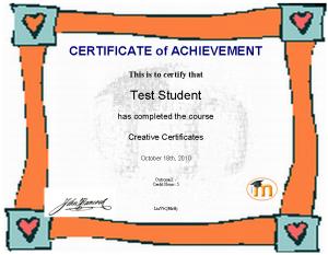 certificate module moodledocs