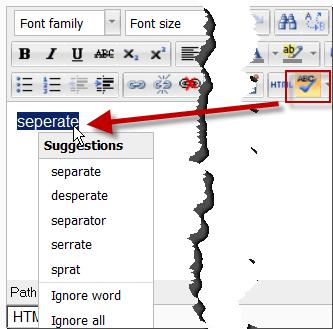 Text editor - MoodleDocs