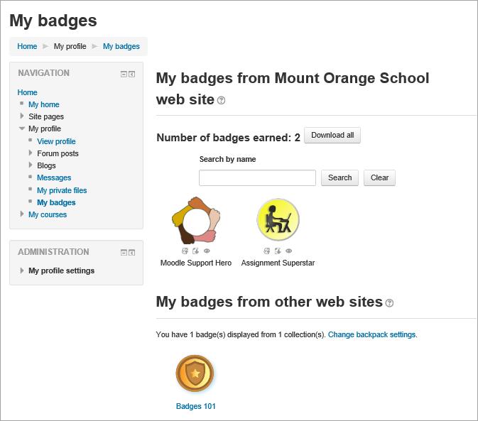 Badges - MoodleDocs