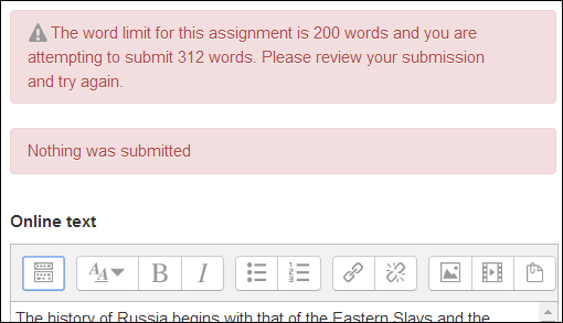 Will you get points off a report if you go over the word limit?