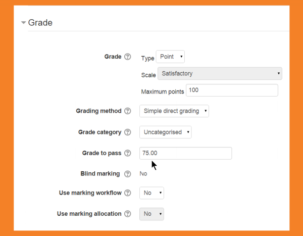 New features - MoodleDocs