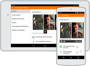 Moodle mobilná aplikácia