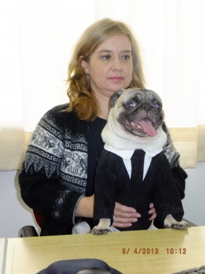 Paula and Temudgin are Germán's smart co-workers.JPG