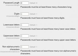 Site Security Settings Moodledocs