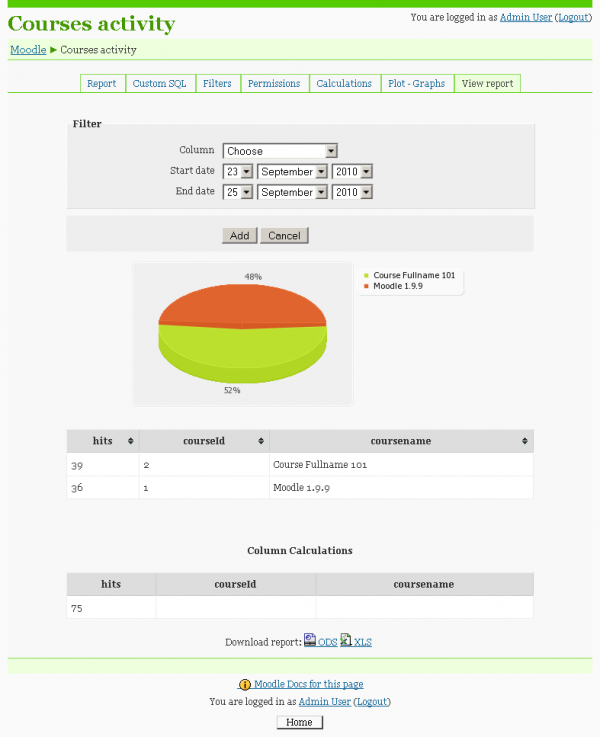 block custom reports sample sql report.png
