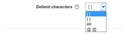Wordselect delimit characters
