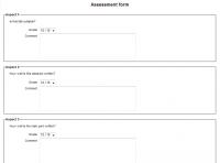 Bewertungsstrategien bei gegenseitigen Beurteilungen – MoodleDocs