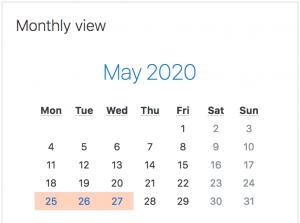 activity 6 mark my calendar