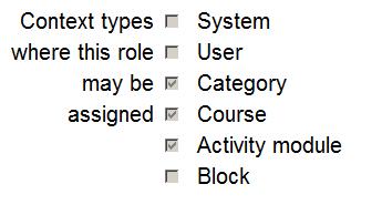 Assign roles - MoodleDocs