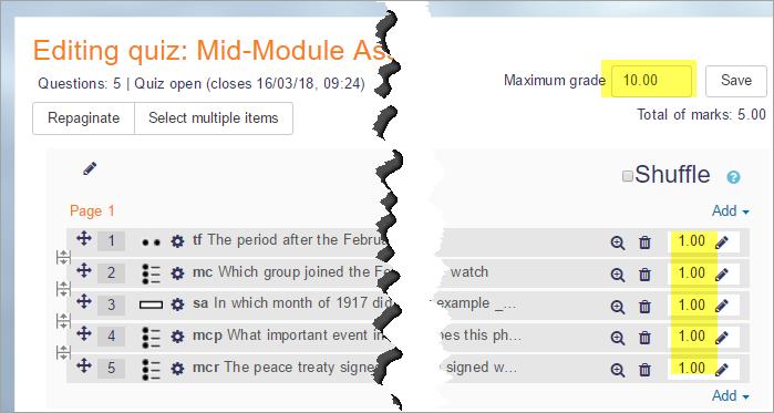 Quiz FAQ - MoodleDocs