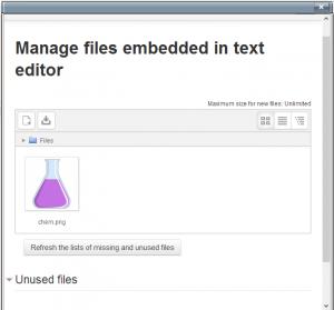 TinyMCE editor - MoodleDocs