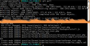 Windows installation using Git - MoodleDocs