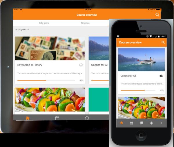 Moodle app features - MoodleDocs