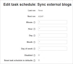 Scheduled tasks - MoodleDocs