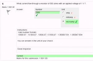 Numerical question type - MoodleDocs