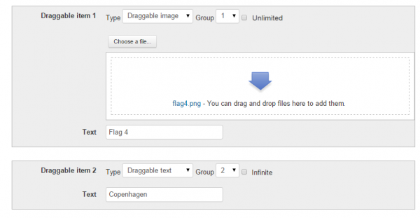 Drag and drop onto image question type - MoodleDocs