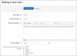 Creating custom roles - MoodleDocs
