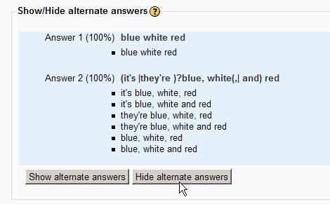 Tipo De Pregunta Respuesta Corta De Expresion Regular Moodledocs