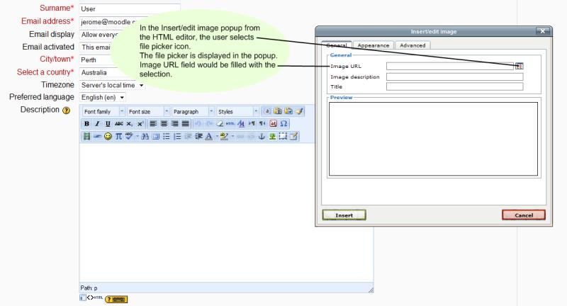 Repository File Picker - MoodleDocs