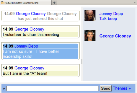 Chat Room Demo